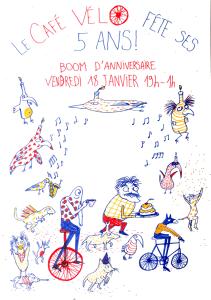 5 ans Café Vélo