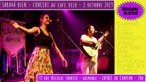 saravá bien_concert café vélo_2octobre2019_grenoble